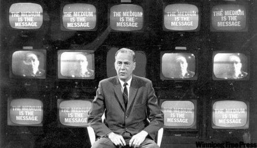 Google Doodle Honors Marshall McLuhan