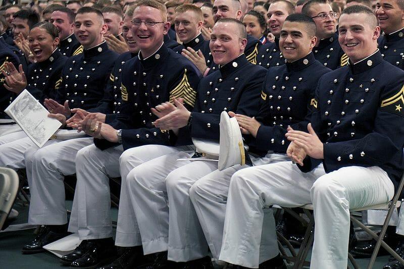 Norwich university cadets