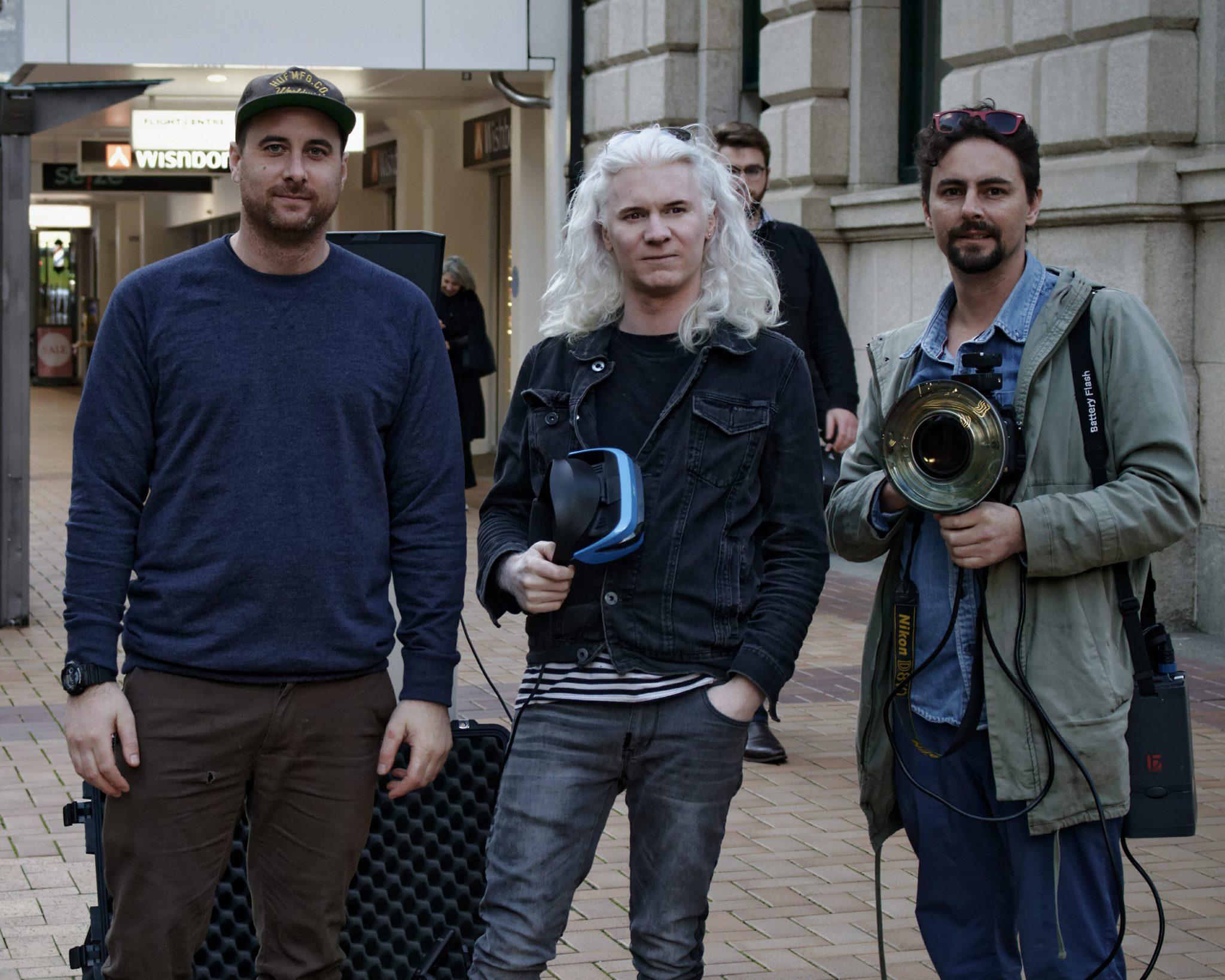 reality virtual founders Tim shepherd, che de boer, and jon baginski virtual reality