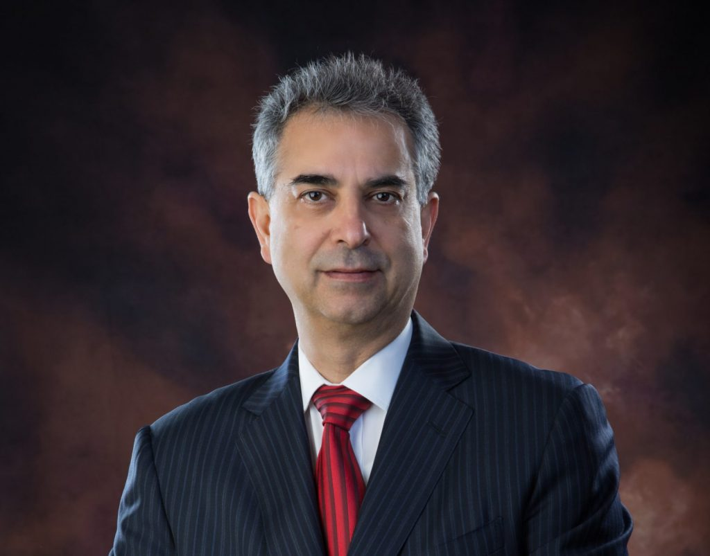 Dr. Rouzbeh Yassini. Image courtesy of UNH.