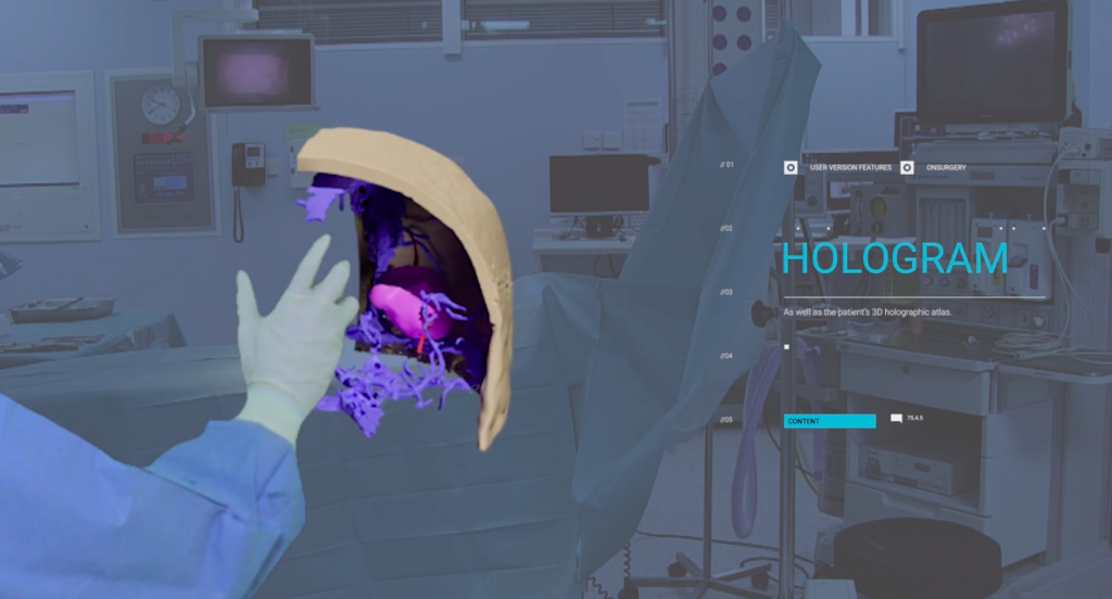 ONSURGERY mixed reality surgeon training in action. ONSURGERY, Vimeo.