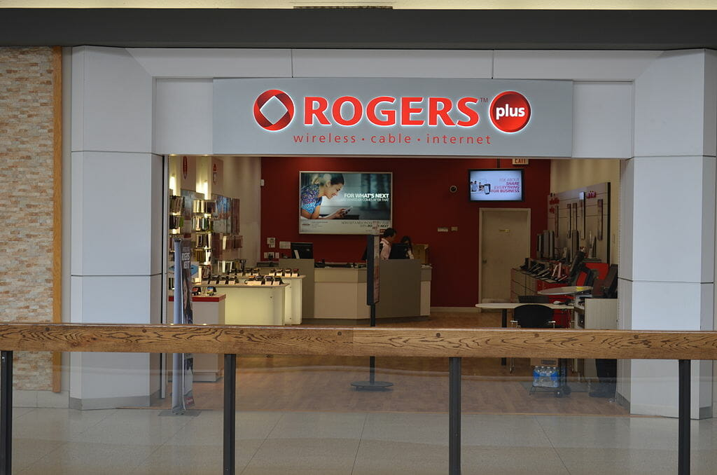 rogers wireless storefront