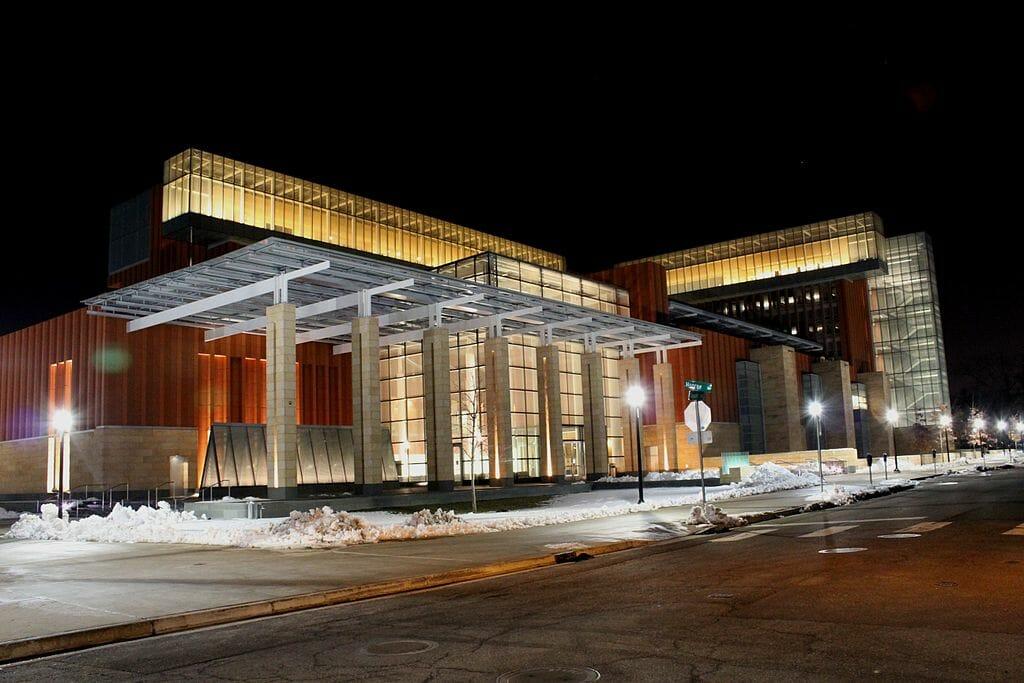 University of Michigan Ross School Business. Wikimedia Commons.
