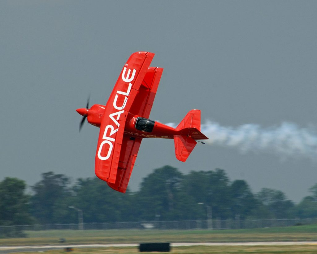 oracle plane at dayton air show