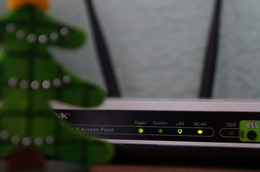 a Wi-Fi router