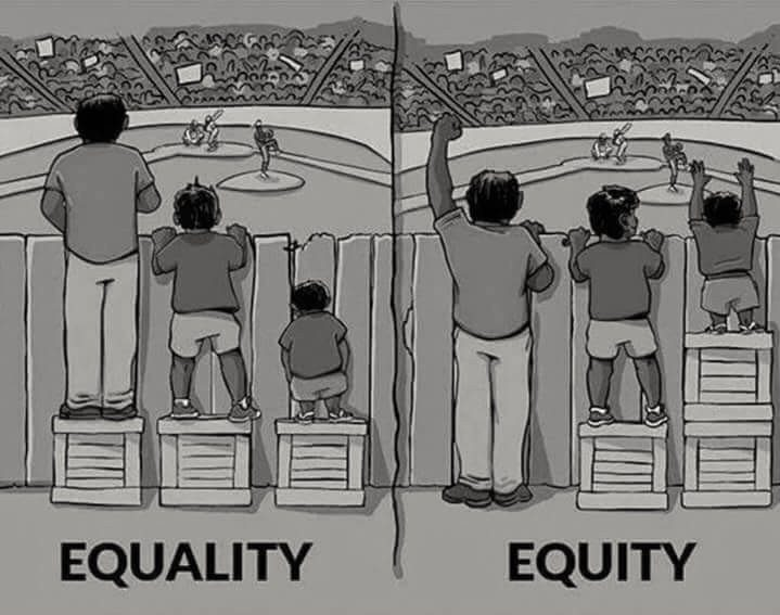 illustration of equity described above