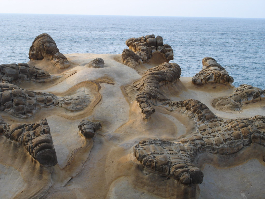Yehliu Geopark. Image by Jacky W licensed under CC BY-NC-SA 2.0.