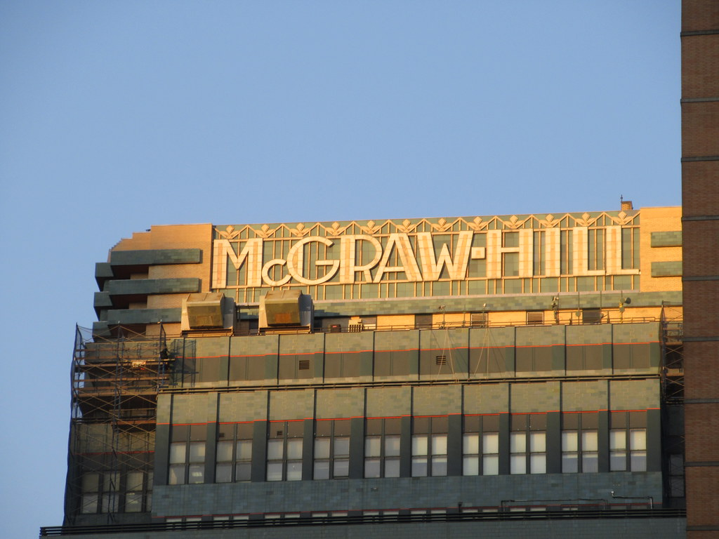The old McGraw-Hill building in Manhattan. The company no longer occupies it.