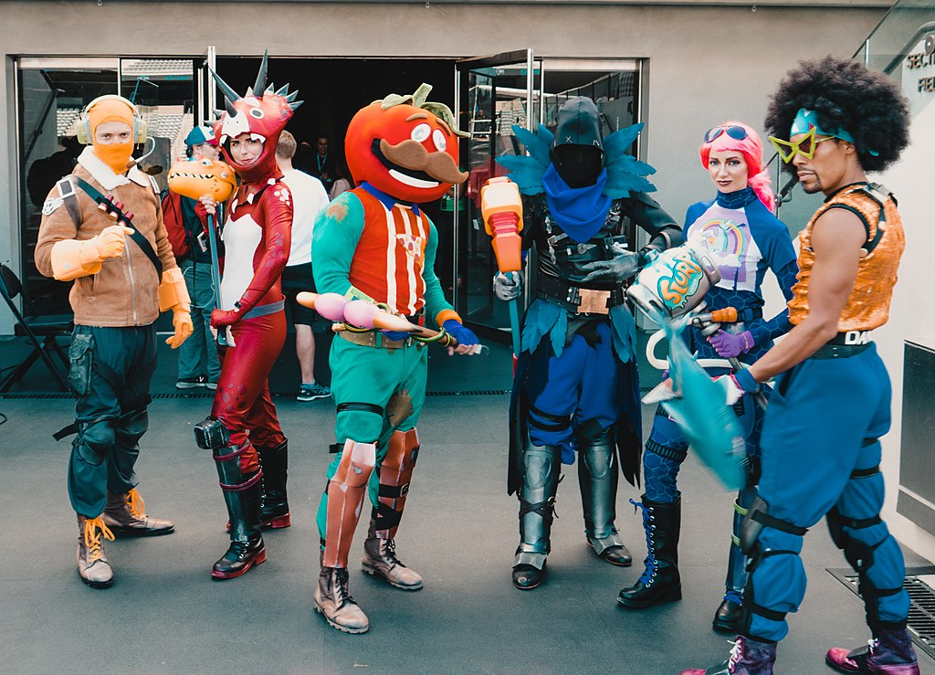E3 2018 Fortnite Cosplayers