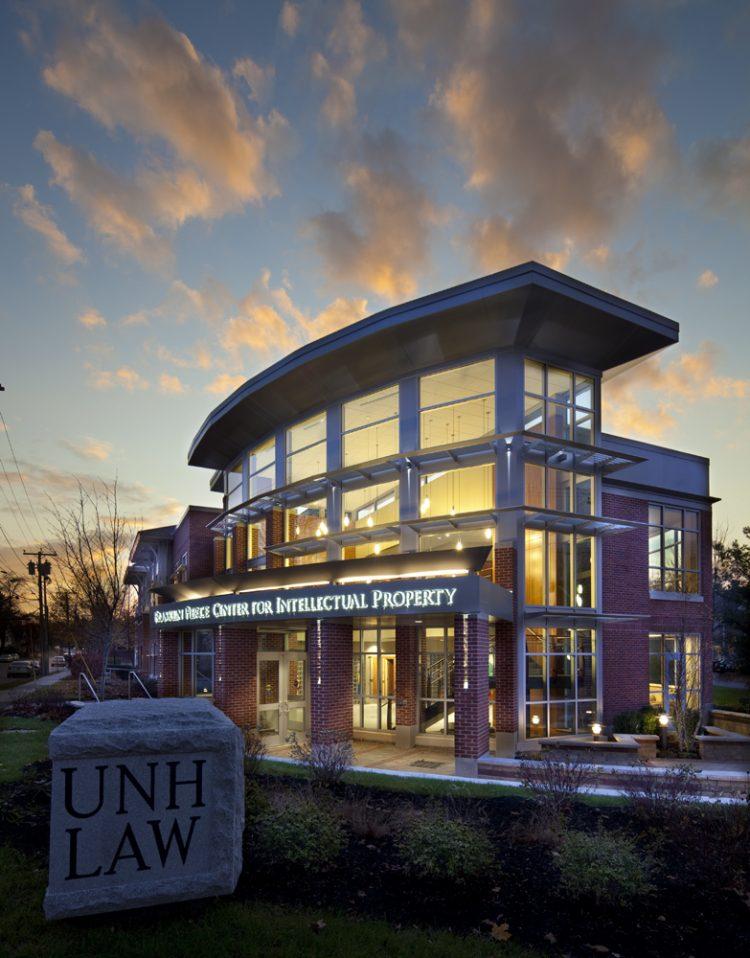 UNH Franklin Pierce IP Center. The school offers an online J.D.