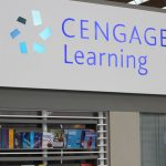 A cengage learning display