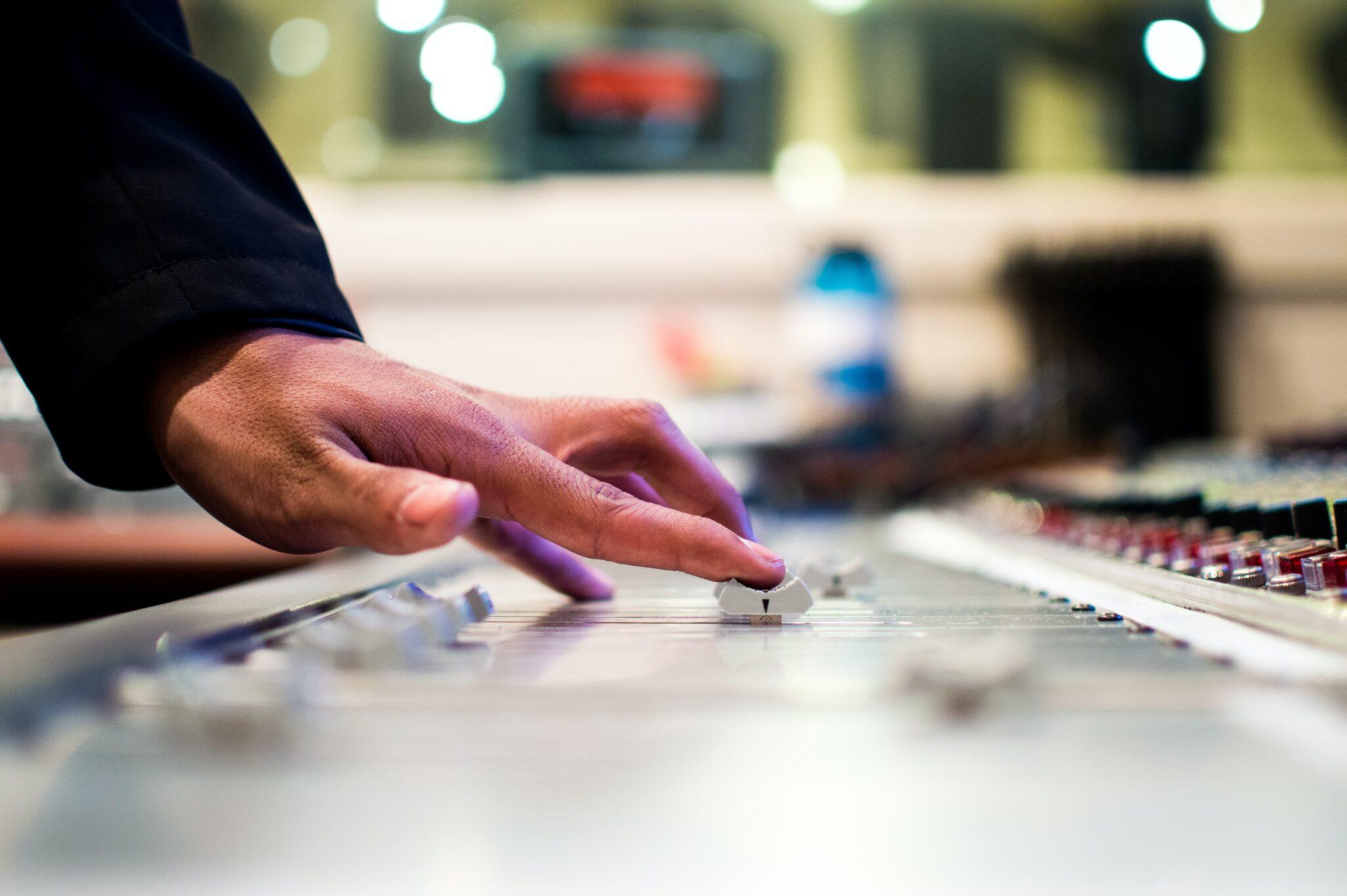 Music editing/mixing board
